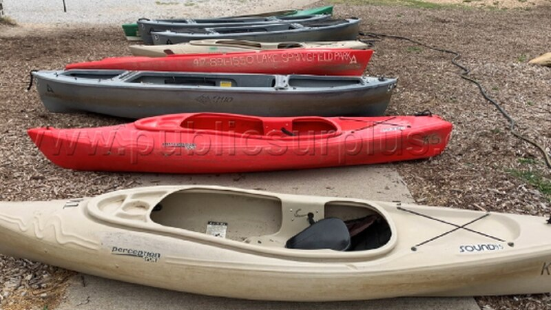 From kayaks to old police cars to heavy machinery, you can find some very interesting items for...