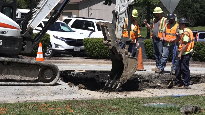 The City of Branson Utilities Department is working to fix an emergency water main break that...