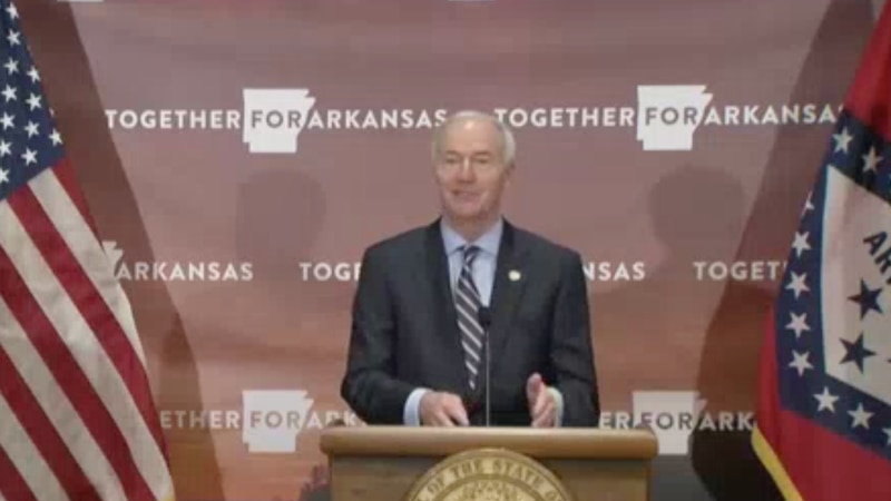 Gov. Hutchinson/State of Arkansas