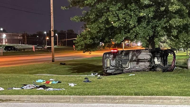 Deadly crash on Glenstone Avenue