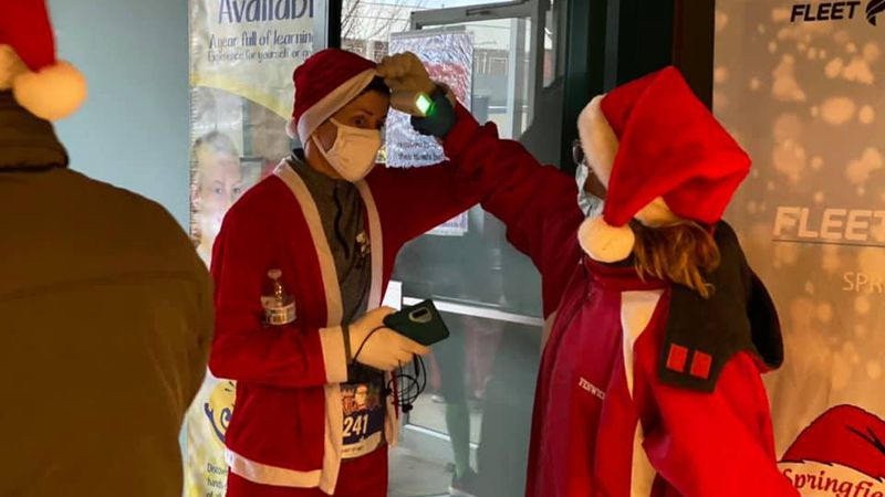 Yes, for the third year in a row, the Santa Run continues.  BUT there were a few changes amid...