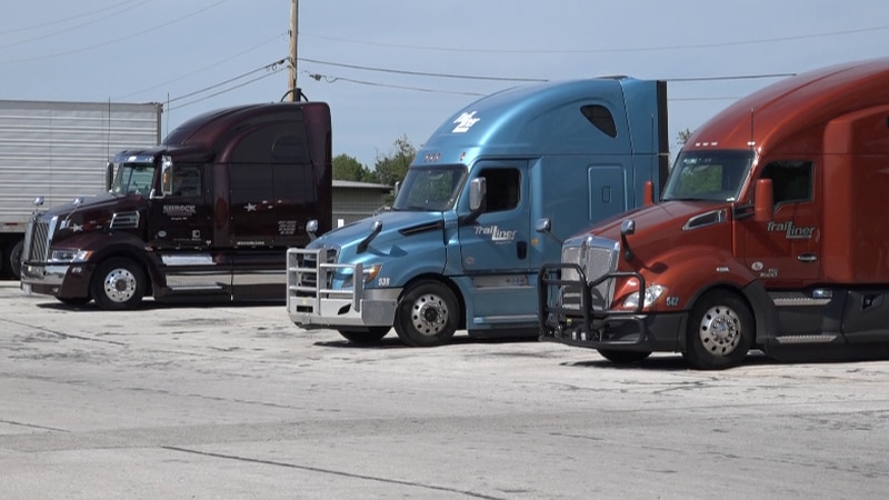 Trucking companies across the country are experiencing driver shortages.