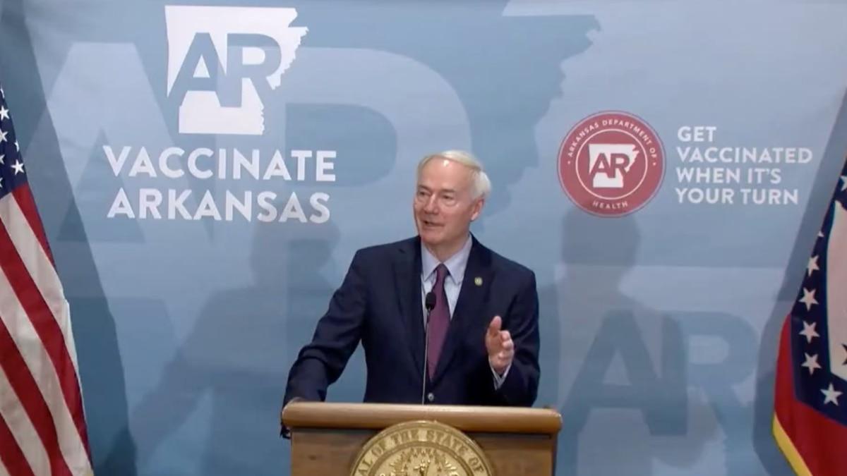 Gov. Asa Hutchinson/State of Arkansas