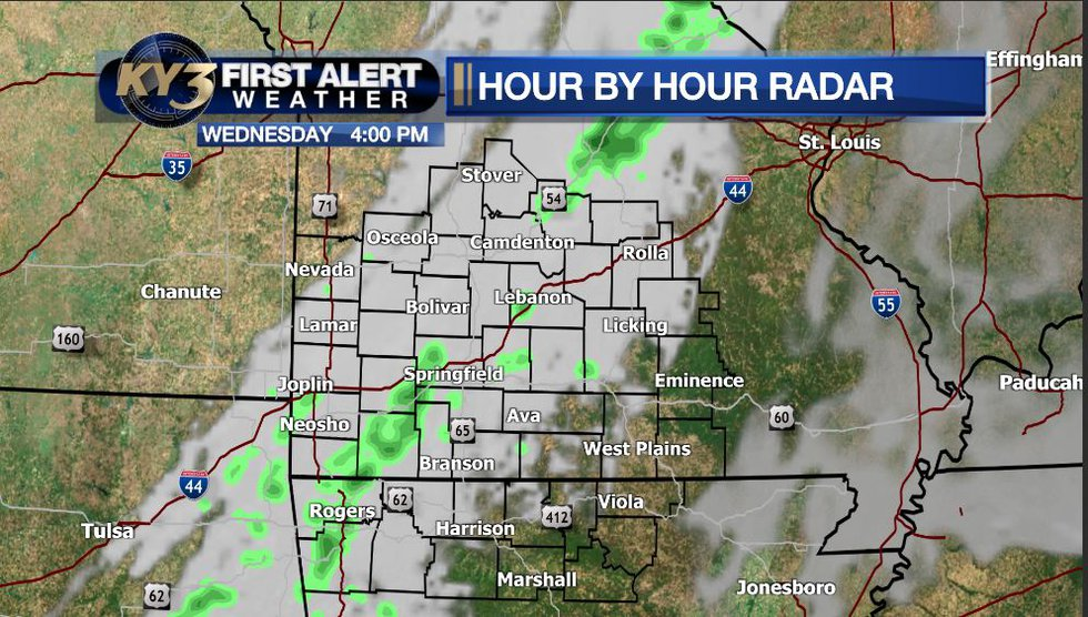A few showers will develop across the area from west to east, mainly in the afternoon and...