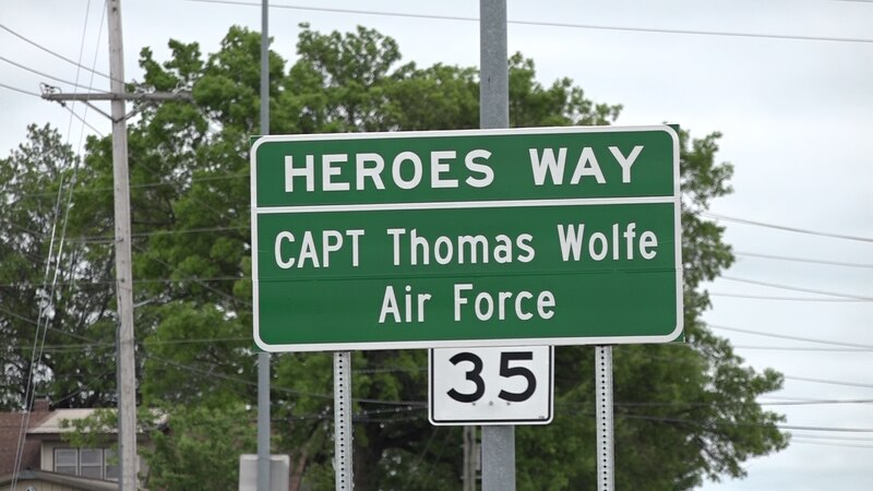 Vietnam Airman Captain Thomas Wolfe was honored by the Monett Veterans of Foreign Wars by...