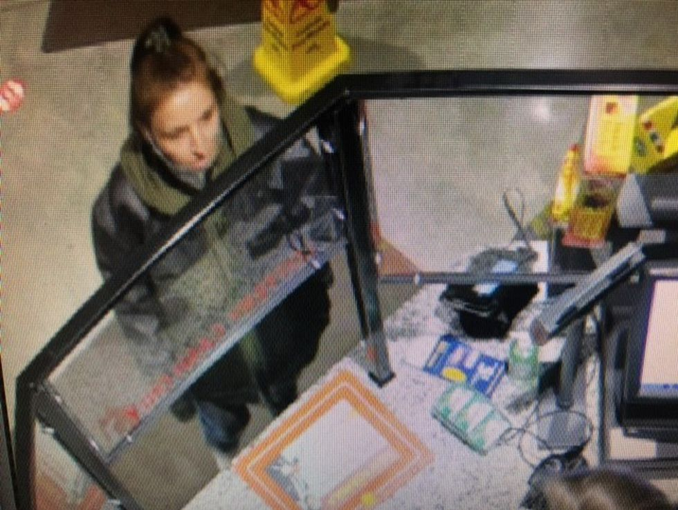 Investigators say the woman and man may be driving a dark minivan or SUV.