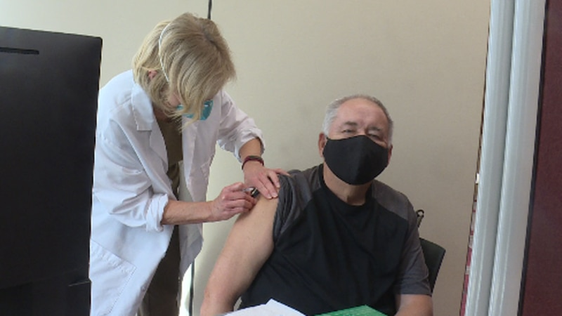 Many people are anxious about how they're going to be getting their vaccine. Governor Mike...