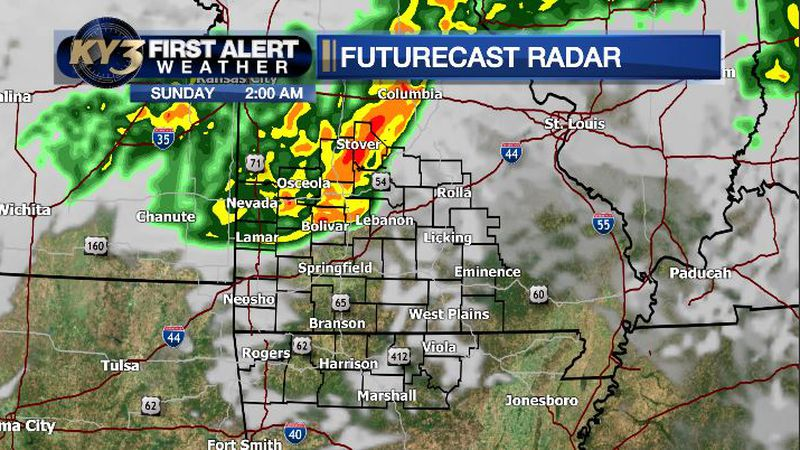 Severe storms for some overnight