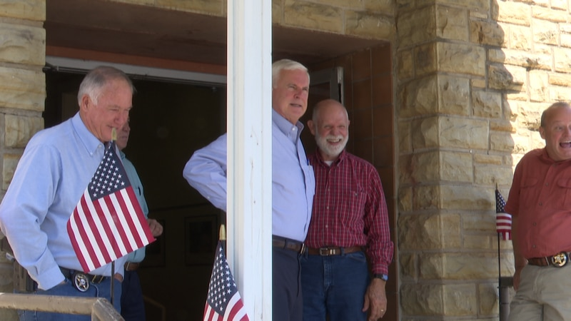 Arkansas 3rd District Representative pays a visit to Camp Jack in Harrison.