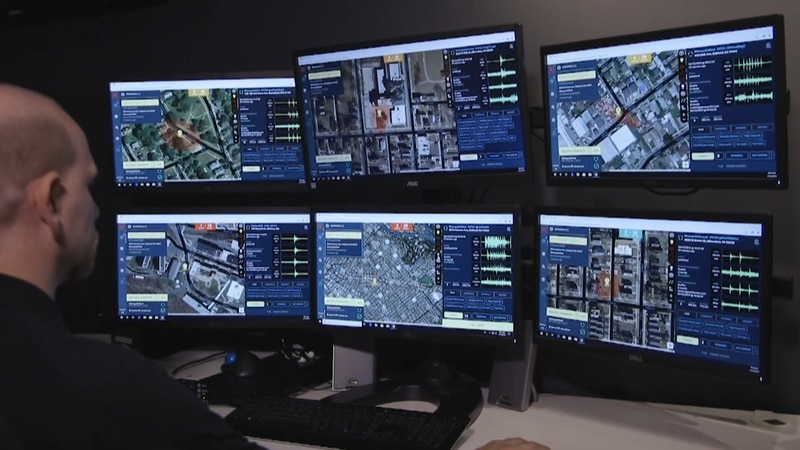 ShotSpotter technology detects gunshots