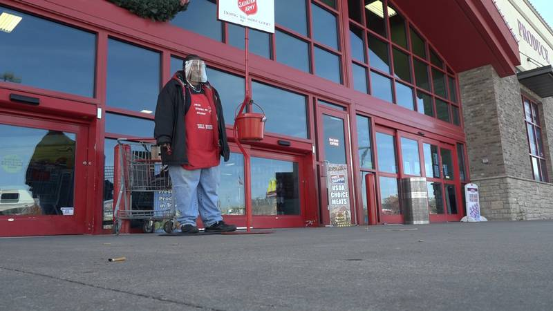 Judy Brown has been a bell ringer for nearly 20 years.