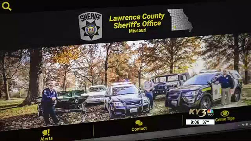 Lawrence Co Sheriff's Office website