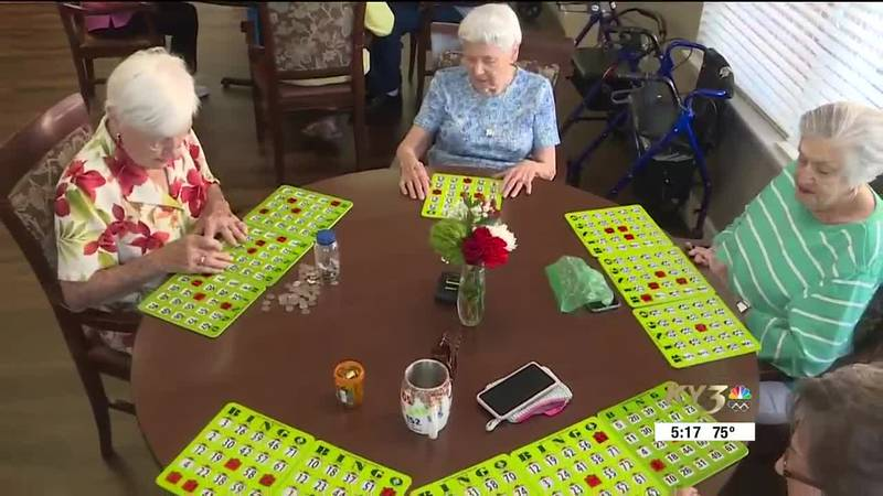 Peggy celebrated her birthday in style. No, it was not by playing BINGO.