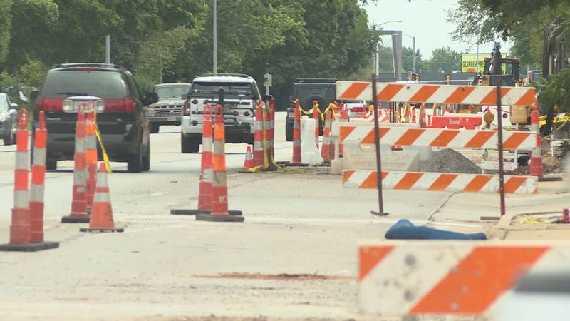 Joel Alexander with Springfield City Utilities said the water main renewal project should be...