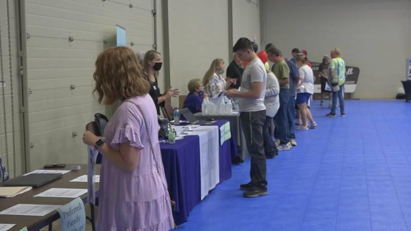 Hundreds of job seekers attended West Plains job fair