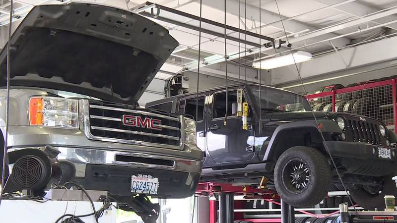 Car shops seeing an uptick of customers