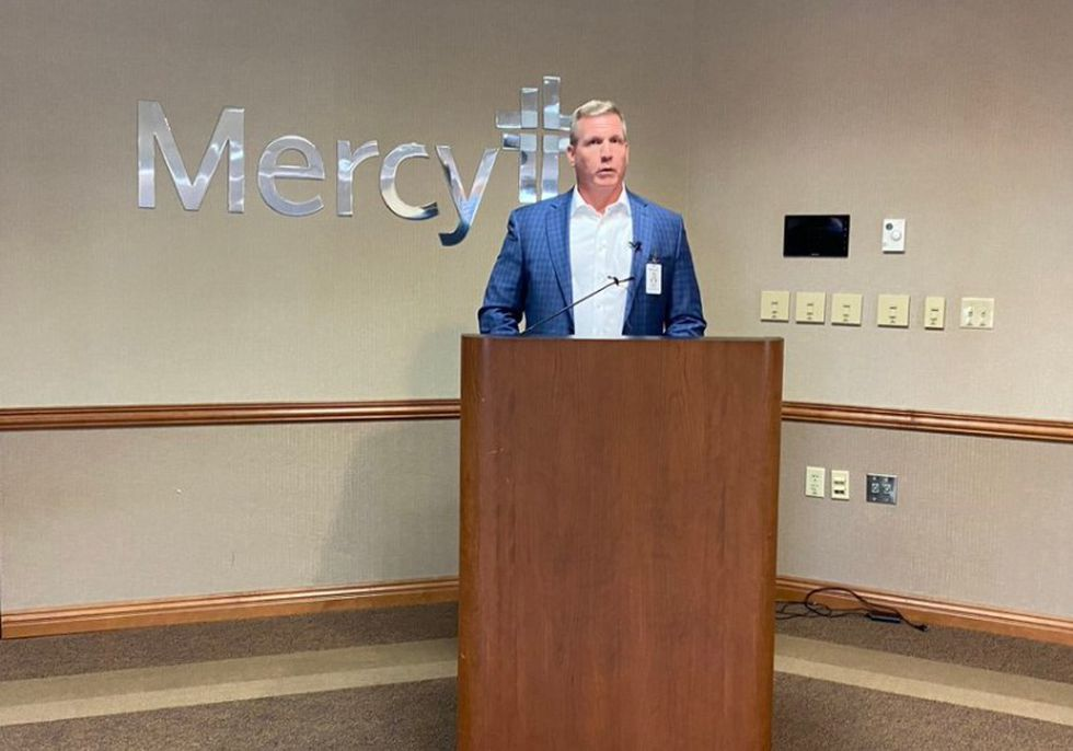 WATCH: Mercy addresses influx of COVID-19 patients in Springfield - KY3