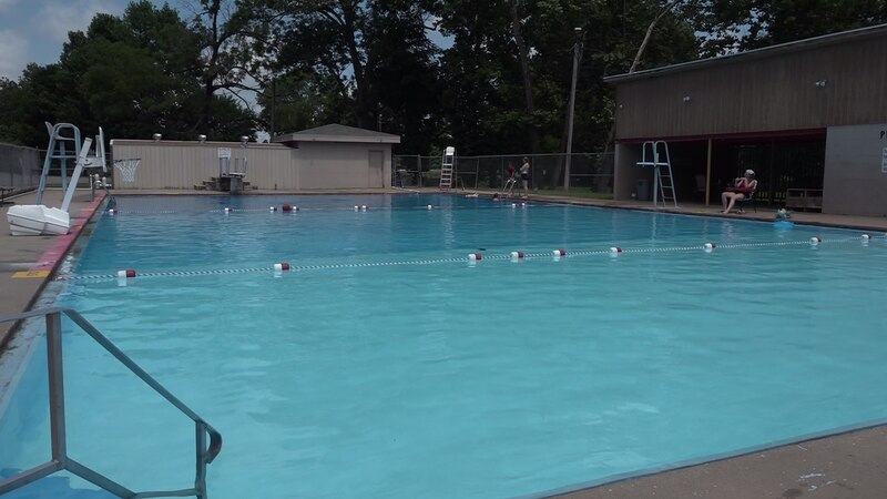 The Pierce City pool is finally open after flood damage delayed the start of the season.