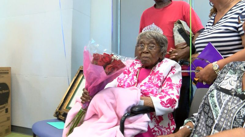 Hester Ford celebrated what is believed to be her 115th birthday in 2019.