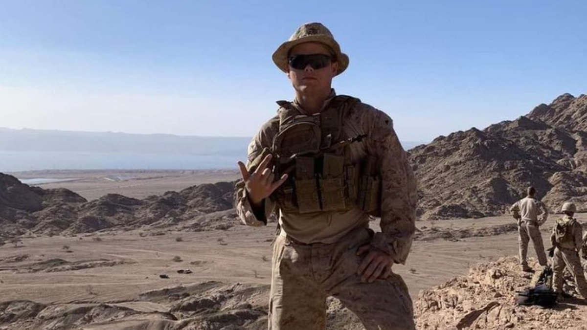 Lance Corporal Jared Schmitz was among more than a dozen American service members killed in a...