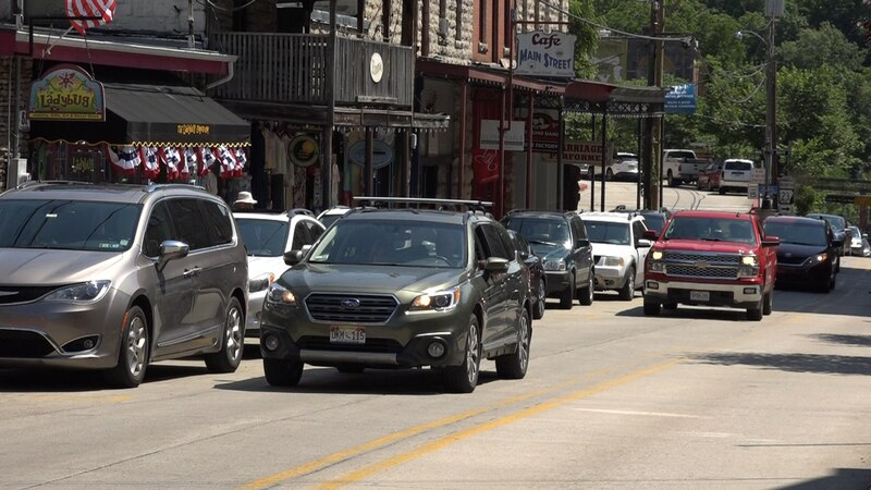 Many residents are working about parking in downtown Eureka Springs.