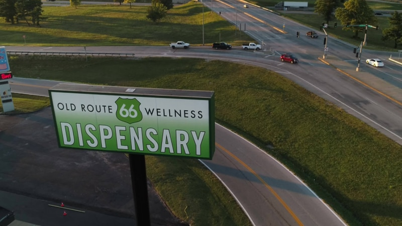Old Route 66 Wellness dispensary
