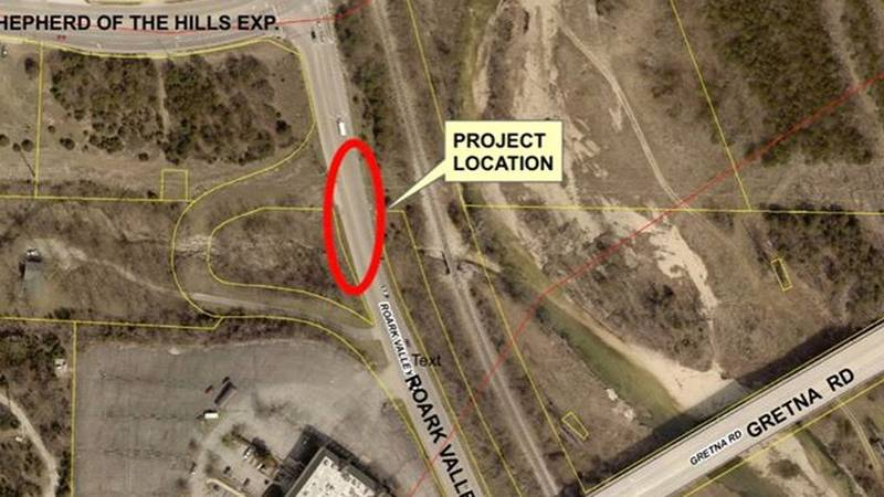 There will be temporary lane closures on Roark Valley Road from Shepherd of the Hills Expy to...