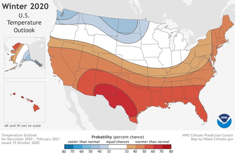 Winter 2020-2021 Temp Outlook