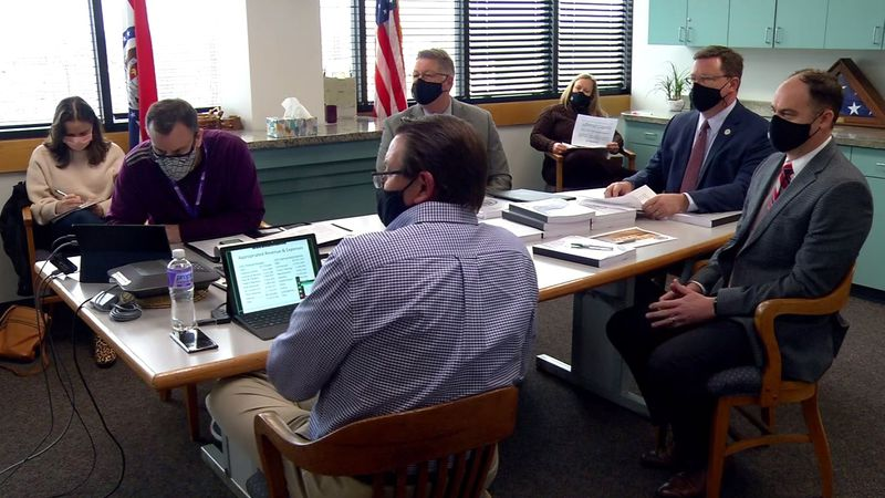 The Greene County Commission officially adopted the budget for 2021.  A large portion of...