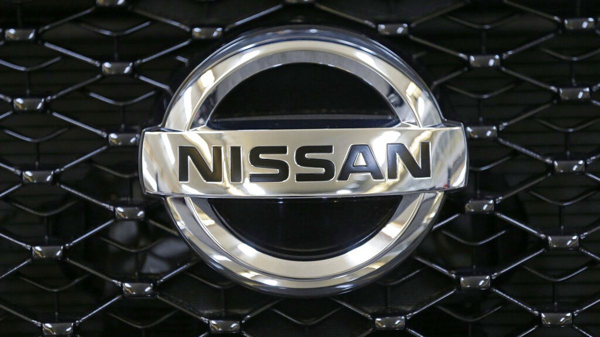 This Feb. 14, 2013 file photo shows the Nissan logo on the grill of a 2013 Nissan Pathfinder on...