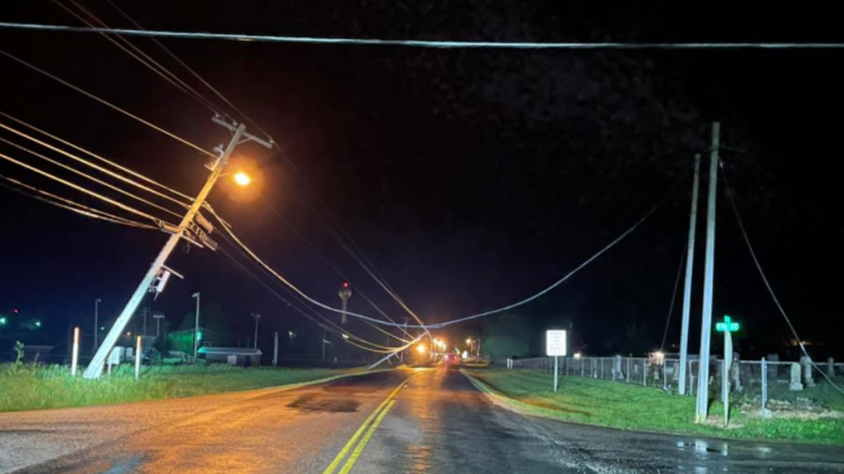 Overnight storms damaged some power lines in Barry County, leading authorities to close down a...