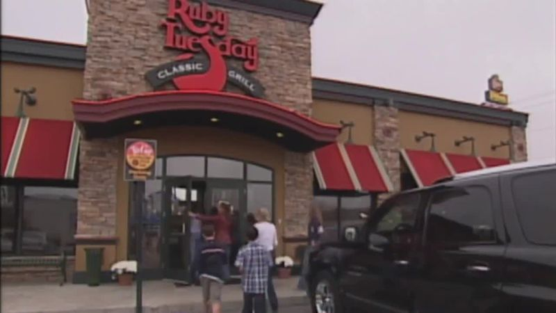 Ruby Tuesday has filed for bankruptcy.