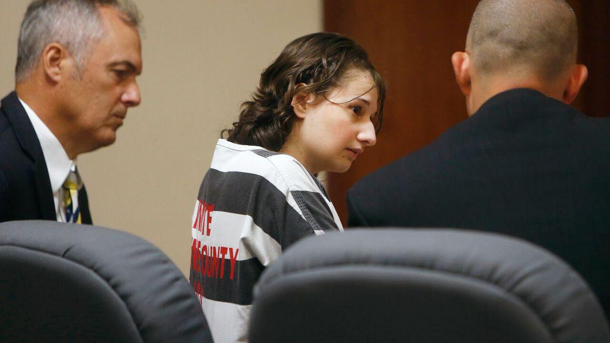Gypsy Blanchard pleads guilty on July 5, 2016, for killing her mother, Dee Dee Blanchard, in...